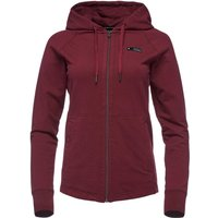 Black Diamond Women's Basis Full Zip Hoody, Red/WMS
