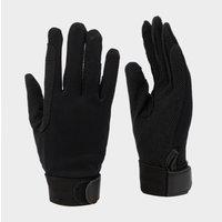 Battles Kids' Cotton Pimple Palm Gloves, Black