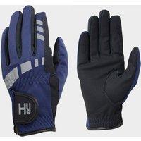 Battles Kids' Extreme Reflective Softshell Gloves, NAVY