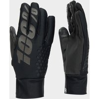 100% Men's Brisker Hydromatic Waterproof Gloves, BLACK/BLACK