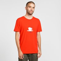 abk Men's Coffee T-Shirt, Red/TEE