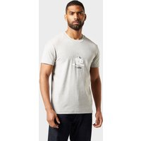 abk Men's Coffee T-Shirt, GREY/TEE