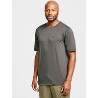 Brasher Mens Wicking T-shirt  Grey