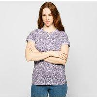 Brasher Womens Cotton T-shirt  Purple
