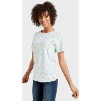 Peter Storm Angel Floral Tee, TURQUOISE/TURQUOISE