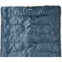 Eurohike Snooze Double Sleeping Bag, Blue/Blue