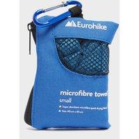 Eurohike Microfibre Mini Clip Towel (40x40cm), Blue/MBL