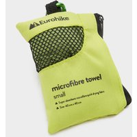 Eurohike Microfibre Mini Clip Towel (40x40cm), Green/Green