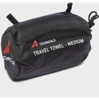 Technicals Suede Microfibre Travel Towel (Medium), Green/GRN