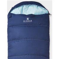 HI-GEAR Divine Single Sleeping Bag, Blue/BBL