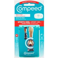 Compeed Sports Heel Blister Plaster, Blue/5PK