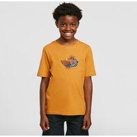 Craghoppers Kids' Rubens Short Sleeved T-Shirt, Gold/GLD