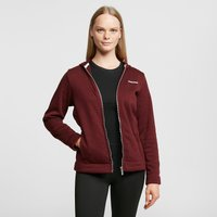 Craghoppers Women's Croftly Full Zip Fleece, Red/PNK