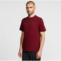 Mountain Equipment Men's Label T-Shirt, BURGUNDY
