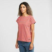 Weird Fish Women's Esha T-Shirt, Red
