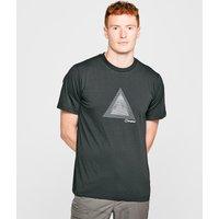Berghaus Mens Abstract Mountain T-shirt  Black