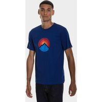 Berghaus Mens Modern Mountain Logo T-shirt  Blue