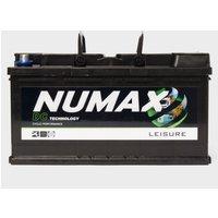 NUMAX DC25MF 12V 105Ah Sealed Leisure Battery, Black/Black