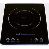 STREETWIZE Low Wattage Induction Cooker, BLK/BLK