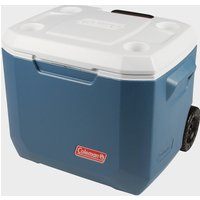 COLEMAN 50QT Xtreme Wheeled Cooler, Blue/BLU