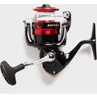 SHIMANO Sienna FG C3000 Fishing Reel, RED/BLK