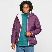 Peter Storm Womens Blisco Hooded Jacket, Purple/PUR