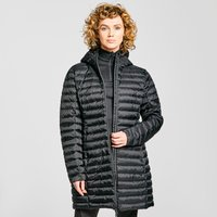 Peter Storm Women's Long Insulated Down Jacket, BLACK/BLACK