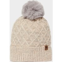 Alpine Women's Beki Bobble Hat, CREAM/CREAM