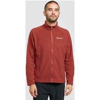 Berghaus Mens Hartsop Full Zip Fleece Jacket, Red