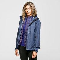 Berghaus Womens Fellmaster Interactive Waterproof Jacket  Navy Blue
