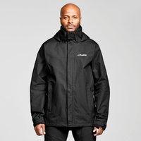 Berghaus Mens RG Alpha II Waterproof Jacket, BLACK/BLACK