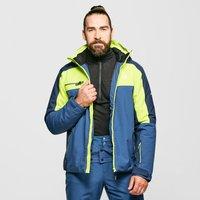 Dare 2B Men's Intermit Ski Jacket II, Navy/Yellow