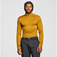 Icebreaker Mens 260 Tech Long-sleeve Half-zip Top, Yellow