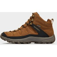 Merrell Men's Ontonagon Peak Walking Shoe, BROWN/BROWN