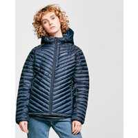 Craghoppers Womens Linex Hooded Insulated Jacket, Navy Blue/Navy Blue