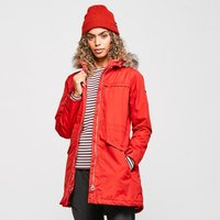 Regatta Womens Sherlyn Parka Jacket, Red/Red