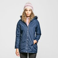 Regatta Womens Myla Waterproof Insulated Jacket, Navy