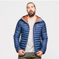 Rab Mens Microlight Alpine ECO Down Jacket, Dark Blue