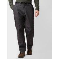 Craghoppers Mens Kiwi Convertible Trousers, Dark Grey/Dark Grey