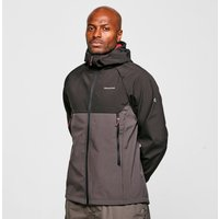 Craghoppers Men's Trent Weatherproof Hooded Jacket, BLK/BLK