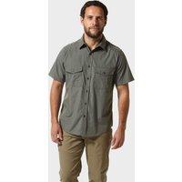 Craghoppers Mens Kiwi Short Sleeved Shirt, DARK GREY/DARK GREY