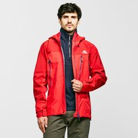 Mountain Equipment Mens Lhotse Waterproof Jacket, Red/Red