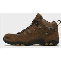 Hi Tec Men's Quadra Waterproof Mid Walking Boots, Brown/BRN