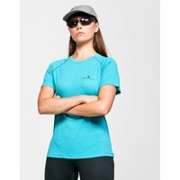 Ronhill Womens Core Short-sleeve T-Shirt, Blue/Blue