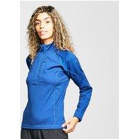 Rab Women's Nucleus Pull-On Fleece, Blue