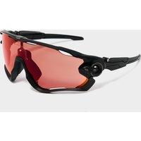 Oakley Jawbreaker Carbon Prizm Trail Torch Sunglasses, Black