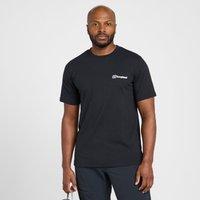 Berghaus Men's Classic Big Logo T-Shirt, Black/Black