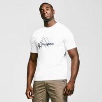 Berghaus Mens Peak Fusion Grid T-shirt  White