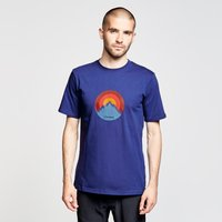 Berghaus Mens Modern Mountain T-shirt  Blue