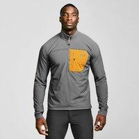 Mountain Equipment Men's Arrow Quarter-zip Jacket, Grey